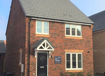 Thumbnail 3 bedroom link-detached house for sale in Greenwood Way, Harwell, Didcot