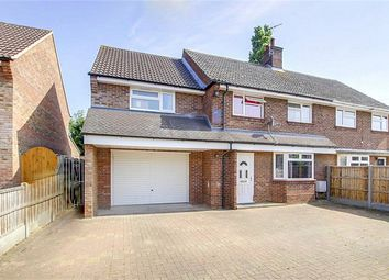 Thumbnail 5 bed semi-detached house for sale in Beauchamp Close, Eaton Socon, St Neots, Cambridgeshire