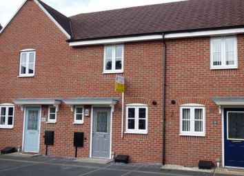 Thumbnail 2 bed terraced house to rent in Drew Court, Ashby De La Zouch, Leicestershire