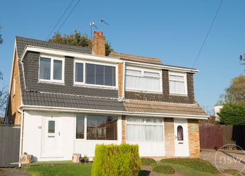 Thumbnail 3 bed semi-detached house for sale in Derby Hill Crescent, Ormskirk