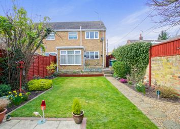 Thumbnail 3 bed semi-detached house for sale in Owls End, Bury, Huntingdon