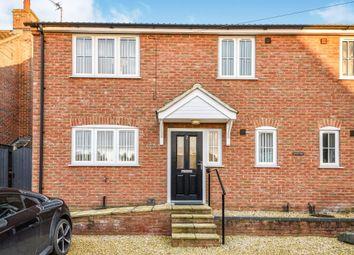 Thumbnail 2 bed semi-detached house for sale in Barnards Lane, Watlington, King's Lynn