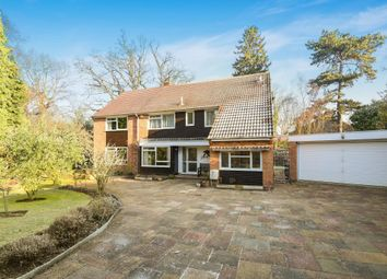 Thumbnail 5 bed detached house for sale in Horsell, Woking