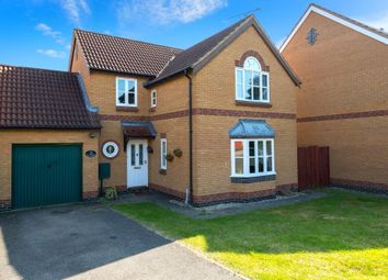 Thumbnail 4 bedroom detached house for sale in Viking Way, Thurlby, Bourne