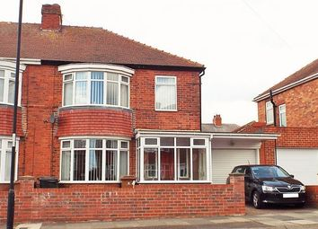 Thumbnail 3 bedroom semi-detached house for sale in Lisle Grove, Wallsend