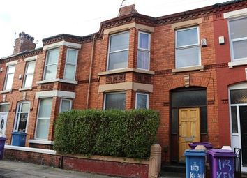 Thumbnail 3 bedroom terraced house to rent in Kenmare Road, Wavertree, Liverpool