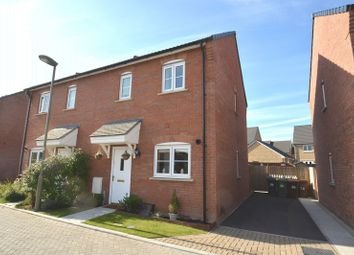Thumbnail 2 bed semi-detached house for sale in Hawthorn Place, Didcot