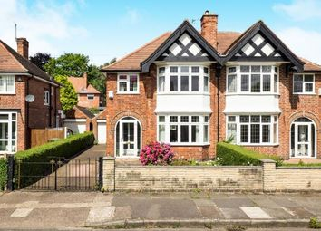 Thumbnail 3 bed semi-detached house for sale in Fellows Road, Beeston, Nottingham, Nottinghamshire