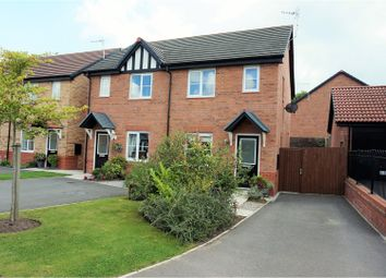 Thumbnail 2 bed semi-detached house for sale in Britannia Road, Northwich