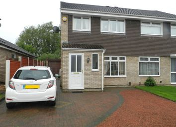 Thumbnail 3 bed semi-detached house for sale in Dunoon Close, Ingol, Preston