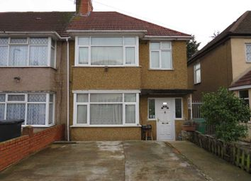 Thumbnail 3 bed end terrace house for sale in Woodside End, Wembley, Middlesex