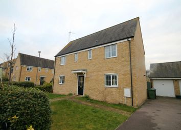 Thumbnail 4 bed detached house for sale in Wellbrook Way, Girton