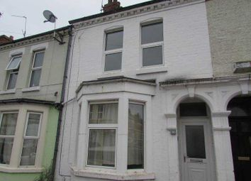 Thumbnail 2 bed terraced house to rent in Newcombe Road, Northampton