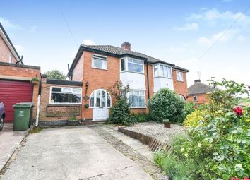 Thumbnail 3 bed semi-detached house for sale in Forge Mill Road, Redditch, Riverside, Worcestershire
