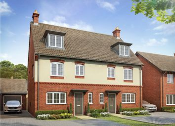 "Thumbnail 4 bed semi-detached house for sale in ""The Leicester "" at Bannold Road, Waterbeach, Cambridge"