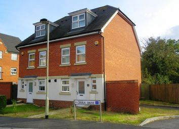 Thumbnail 3 bed semi-detached house to rent in Cirrus Drive, Shinfield, Reading