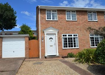 Thumbnail 3 bed semi-detached house for sale in Cullompton - Large Garden, Parking, Garage