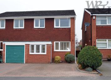 Thumbnail 3 bed semi-detached house for sale in Wilkinson Close, Boldmere, Sutton Coldfield