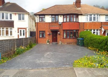 Thumbnail 4 bed semi-detached house for sale in Coronation Road, Great Barr, Birmingham, West Midlands