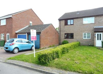 Thumbnail 2 bed semi-detached house for sale in Hillfields, Toftwood, Dereham