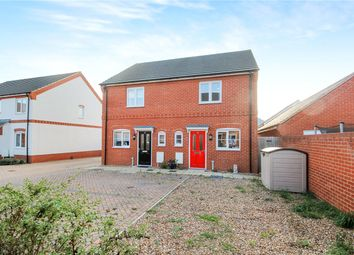 Thumbnail 2 bed semi-detached house for sale in Verbena Road, Cringleford, Norwich, Norfolk