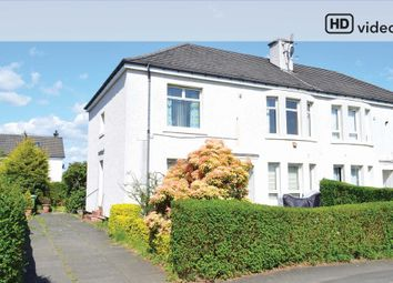 Thumbnail 2 bed flat for sale in Boreland Drive, Knightswood, Glasgow
