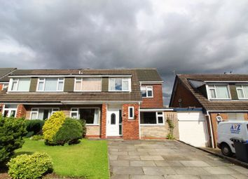 Thumbnail 4 bed semi-detached house for sale in Birchfield Drive, Worsley, Manchester