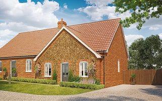 Thumbnail 2 bedroom bungalow for sale in Butterfield Meadow, Hunstanston, Norfolk