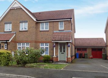 Thumbnail 2 bedroom semi-detached house to rent in William Rigby Drive, Minster On Sea, Sheerness