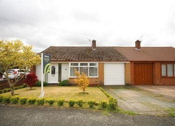 Thumbnail 2 bed semi-detached bungalow for sale in Pinewood Road, Burtonwood, Warrington