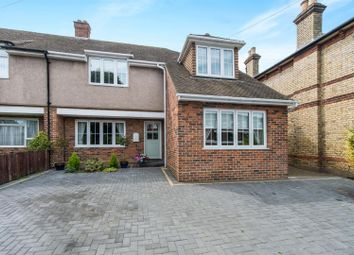 Thumbnail 4 bed semi-detached house for sale in Whitehill Road, Gravesend