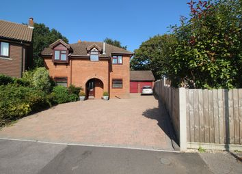 Thumbnail 4 bed detached house for sale in April Grove, Sarisbury Green, Southampton