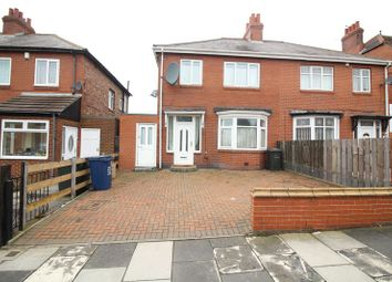Thumbnail 4 bed semi-detached house to rent in Dunholme Road, Newcastle Upon Tyne