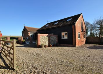 Thumbnail 3 bed barn conversion for sale in Pond Road, Bradfield, North Walsham