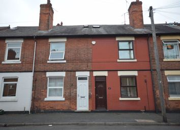 Thumbnail 3 bed terraced house to rent in Glapton Road, Nottingham