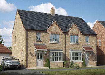 Thumbnail 3 bed semi-detached house for sale in Plot 18, The Blyton, Lodge Lane, Nettleham