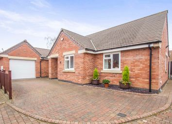 Thumbnail 3 bed detached bungalow for sale in Paddock Close, Blaby, Leicester