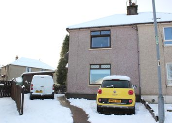 Thumbnail 2 bed semi-detached house for sale in Jarive Cres, Kilsyth