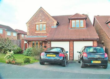 Thumbnail 4 bed detached house for sale in Hillsdown Drive, Connah's Quay, Deeside