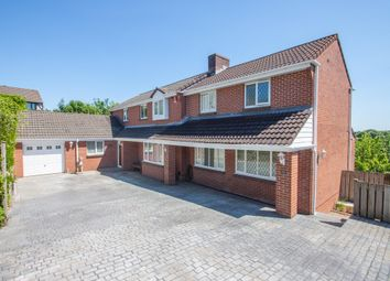 Thumbnail 5 bedroom detached house for sale in The Heathers, Woolwell, Plymouth