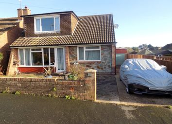 Thumbnail 4 bed detached bungalow for sale in Bapton Close, Exmouth, Devon