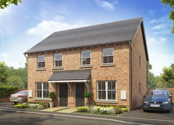 "Thumbnail 2 bed terraced house for sale in ""Darwin"" at Atherstone Road, Measham, Swadlincote"