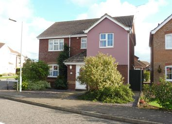 Thumbnail 4 bedroom detached house for sale in Broad Fleet Close, Oulton, Lowestoft