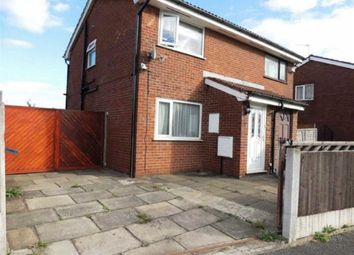 Thumbnail 2 bedroom semi-detached house for sale in Kimbolton Close, West Gorton, Manchester