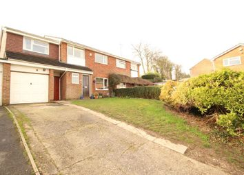 Thumbnail 5 bedroom semi-detached house for sale in Farm Close, Purley On Thames, Reading
