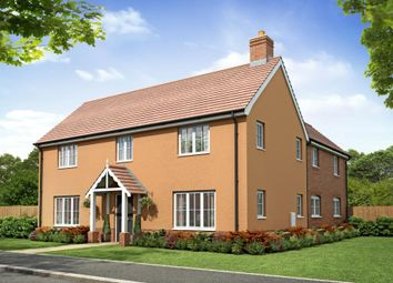 "Thumbnail 4 bed detached house for sale in ""Plot 164 The Langdale"" at Wroxham Road, Sprowston, Norwich"