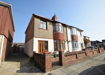 Thumbnail 3 bed semi-detached house for sale in Monckton Road, Portsmouth