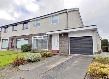 Thumbnail 3 bedroom semi-detached house for sale in Leander Crescent, Renfrew, Renfrew