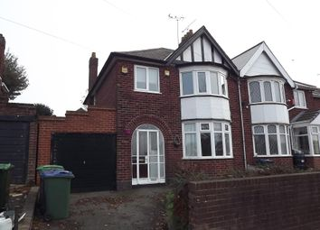 Thumbnail 3 bed semi-detached house to rent in Gads Lane, West Bromwich