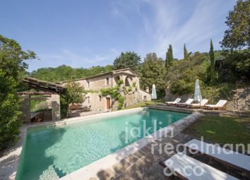 Thumbnail 5 bed farmhouse for sale in Italy, Umbria, Perugia, Montone.